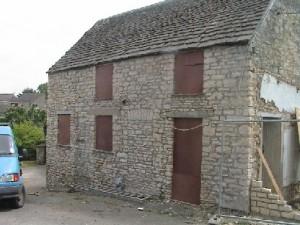 Stone House After Sandblasting