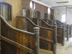Stable Stalls Before Cleaning