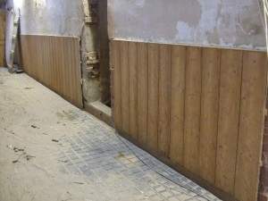 Stable Wall after cleaning