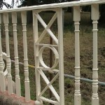 Finished Railing After Painting